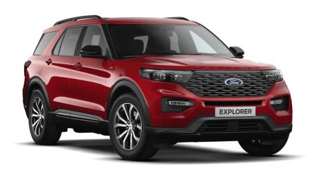 Comprar Ford Explorer PHEV AWD
