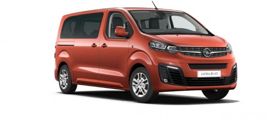 Renting Opel Zafira-e Life BEV 75 kWh M
