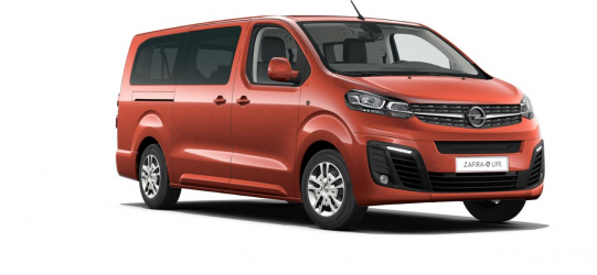 Renting Opel Zafira-e Life BEV 75 kWh L