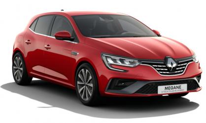Renting Renault Megane E-Tech