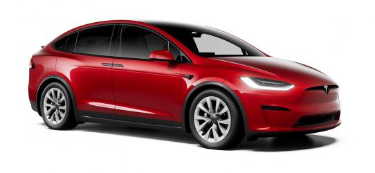 Renting Tesla Model X Gran autonomía