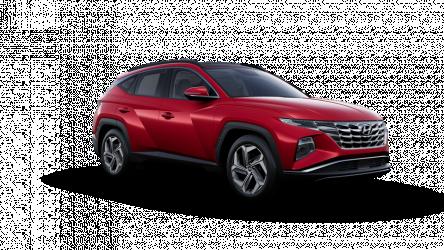 Renting Hyundai Tucson 1.6 TGDI HEV 4x4