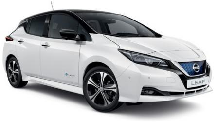 Renting Nissan Leaf 62 kWh e+