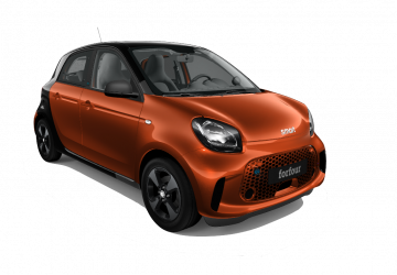 Renting Smart Forfour EQ