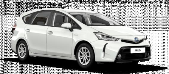 Renting Toyota Prius+ 7 Plazas
