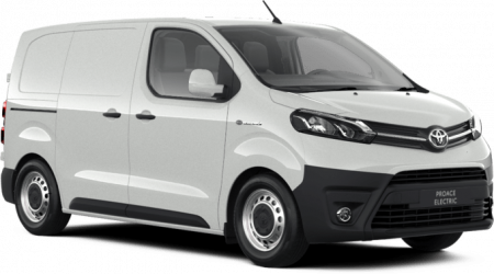 Renting Toyota Proace Electric 50 kWh