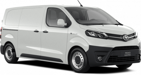 Renting Toyota Proace Electric 75 kWh