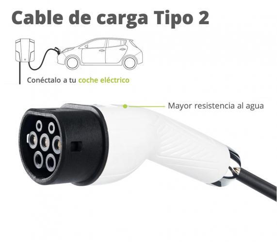 cable carga 5m de tipo 2 a tipo 2 cable carga coche electrico tipo 2 1 moveco